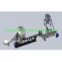 Buy cheap The one-stage forced side feeding pelletizing production line from wholesalers