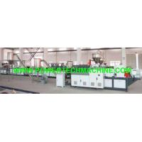 Buy cheap the hot cutting PVC/WPC pelletizing production line from wholesalers
