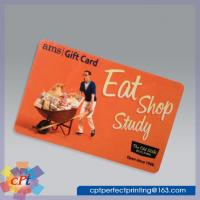 Cheap Full color printing Plastic gift card for sale