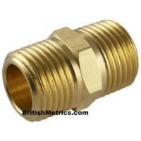 Cheap Hex Nipple BSPT X NPT for sale