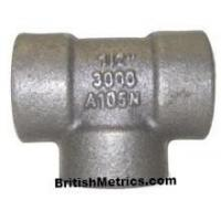 Cheap 3000 PSI Fittings Carbon Steel A105 Tee 3000 PSI for sale