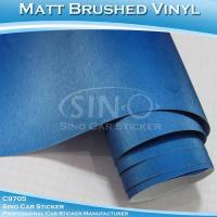 Cheap Brushed Pearl Blue Car Wrap Vinyl Roll for sale