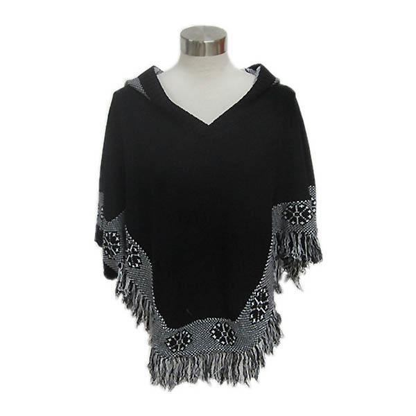 China Ladies knitted fashion hoodie sweater Y115