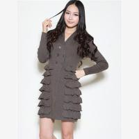 Cheap Women knitted cardigan dress Y12104 for sale
