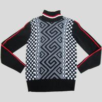 Buy cheap Knitted mens sweater with jacquard pattern Y212 from wholesalers