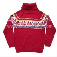 Buy cheap Girls sweater - turtle neck pullover (CXK12006) from wholesalers