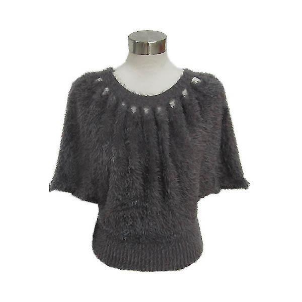 China Ladies knitted batwing sweater Y113