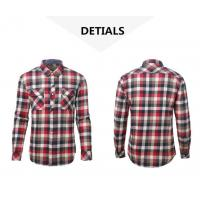 China CVC 80 20 Flannel Shirt For Men on sale
