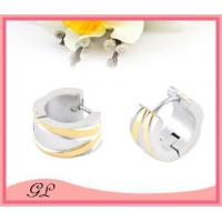 GL-EC02024 Big hoop earrings for man stainless steel earings wholesale