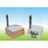 China Memo Cube Pad with pen Hold on sale