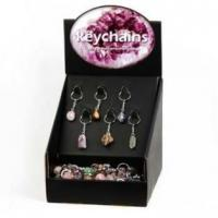 Stone Keychain, 96pcs per display