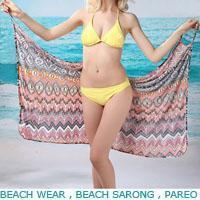 Cheap Beach pareo,Sarong for sale
