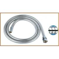 Stainless steel double lock kitchen hose,flexible faucet connector