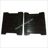 Buy cheap Grooved Rubber Sole Plates from wholesalers