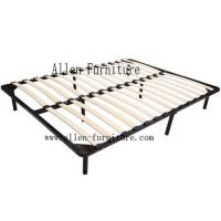 China Wood slat bed frame 8 legs on sale