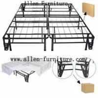 China Metal platform bed with brackets on sale