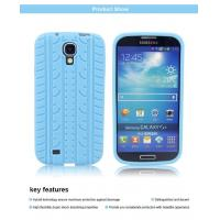 Cheap Tire pattern silicone gel soft case cover skin for Samsung Galaxy S4 for sale