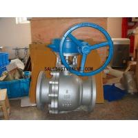 China Cast steel ball valve ANSI ball valve on sale