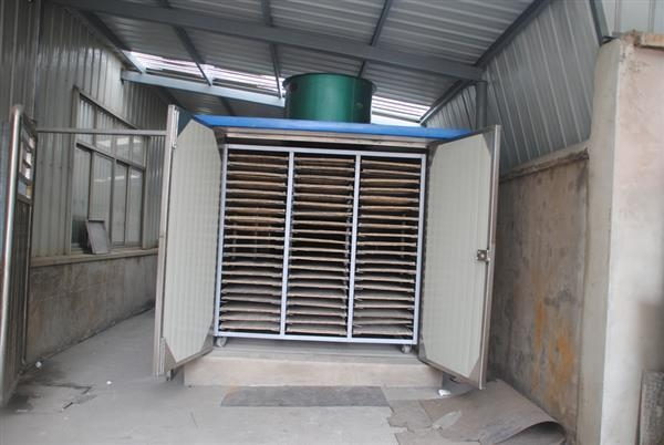 Dryer series kbw series jumbo hot air circulation drying for Air circulation in a room