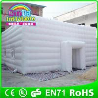 Cheap Giant inflatable cube tent for sale