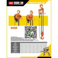 Buy cheap Chain block series HS-VL series Chain hoist from wholesalers