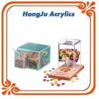 Cheap clear acrylic box with dividers wholesale