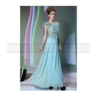 Cheap Chiffon elegant Quinceanera dress, foor length gorgeous prom dress for sale