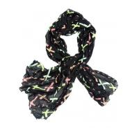 Buy cheap - Scarf Color Cross Pattern Scarf from wholesalers