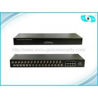 China CCTV Accessories 32 Channel Passive UTP Video Balun , Rg45 / Cat5 Video Balun on sale