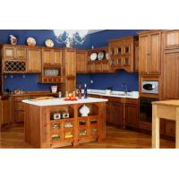 Cheap solid wood kitchen cabinet wholesale