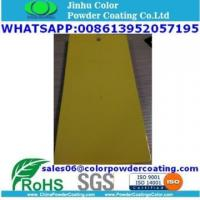 smooth glossy yellow RAL1016 powder coating