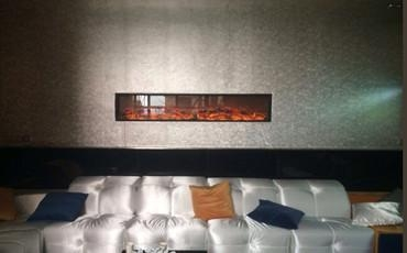 electric fireplace and mantel 1800 no heater with