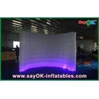 Cheap Automatic Led Inflatable Photo Booth , Party Decorative Photobooth Kiosk for sale