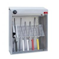 Cheap UV light Knife Sterilizer A wall mounted lockable stainless steel wholesale