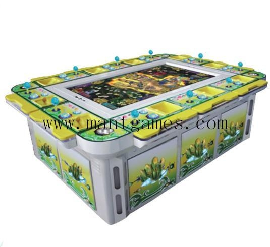 Arcade shooting fish game machine coin operated for sale for Fish game machine