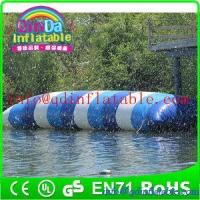 China inflatable water game jump water blob for water park theme inflatable jumping pillow on sale