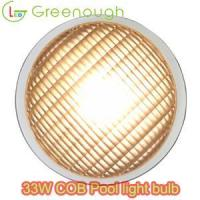 China Above ground pool lights/PAR56 floating pool light/ Inground Pool Light bulb style# GNH-P56B-COB30W on sale