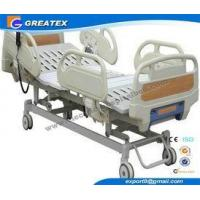 Cheap Automatic Three Function Folding hospital Semi Fowler Bed for ICU and Patient for sale