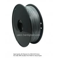 Cheap HIPS filament Silver color 1.75/3.0mm for sale