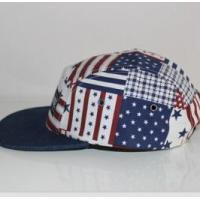Cheap 2016 fashion the Stars and Stripes cotton camper cap for sale