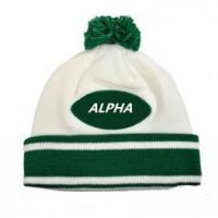 Cheap Smart casual pattern winter sport warm knitted beanie hat for sale