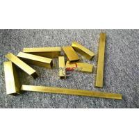 Cheap Thick Walled Brass Tube for sale