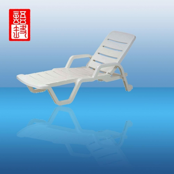 Plastic folding beach chaise lounge chairs product photos for Acrylic chaise lounge