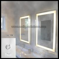 China Illuminated Bathroom Mirror With Electrical Demister on sale