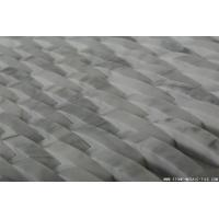 Buy cheap Marble Mosaic Tile Interlace carrera white marble mosaic from wholesalers