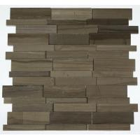 Buy cheap Marble Mosaic Tile Athens gray marble mosaic with up&down design from wholesalers