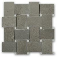 Buy cheap Marble Mosaic Tile Grey marble with crystal white dot marble tile from wholesalers