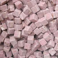 Cheap Red travertine marble loose chips wholesale