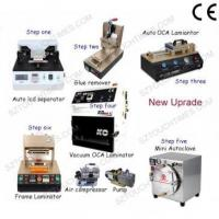 Cheap Latest Full set LCD Screen Refurbish machine for Max 7 inch Mobile phone for sale