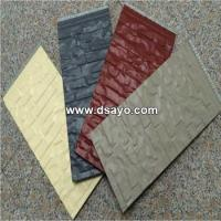 Cheap Metal embossed surface composite insulation Panel -Exterior wall insulation board #DSO6001 for sale